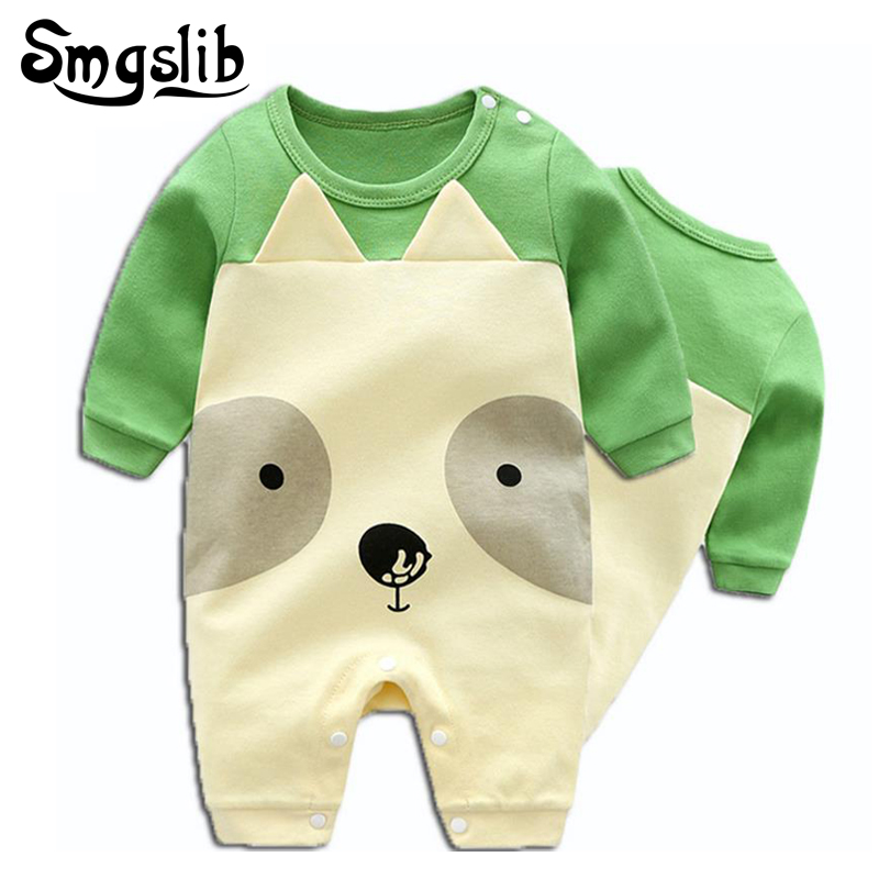 Unisex Baby girl romper 3D dog animal jumpsuits baby boy rompers long sleeve overalls new born baby clothes one piece costume ...