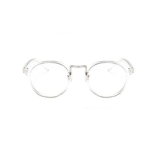 9688bbf70efe 2019 Fashion Transparent round glasses clear frame Women Spectacle myopia  glasses Men EyeGlasses Frame nerd optical frames clear