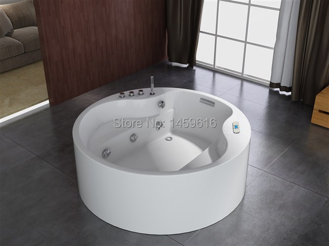 round sea shipping whirlpool bathtub and acrylic abs. Black Bedroom Furniture Sets. Home Design Ideas