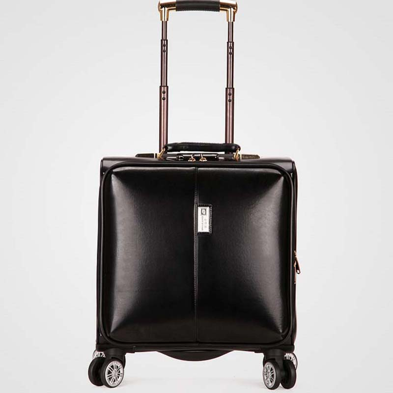 Letrend Travel-Bags Suitcase-Wheels Business-Rolling-Luggage Carry On Women Spinner Trolley