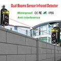 Внешнее позиционирование сигнализации Детектор инфракрасный луч датчик барьер для ворот, дверей, окон защита от взлома системы