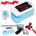 Wholesales 10 units CMS50M LED Fingertip Pulse Oximeter, Spo2 Monitor,Carry Case,Lanyard,HOT SALE CE CONTEC