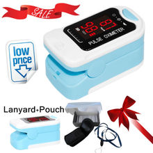 Wholesales 10 units CMS50M LED Fingertip Pulse Oximeter Spo2 Monitor Carry Case Lanyard HOT SALE CE
