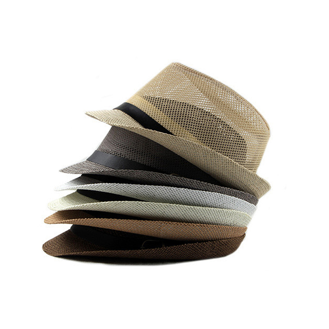 Summer Jazz Cap - Beach Straw Fedora 1