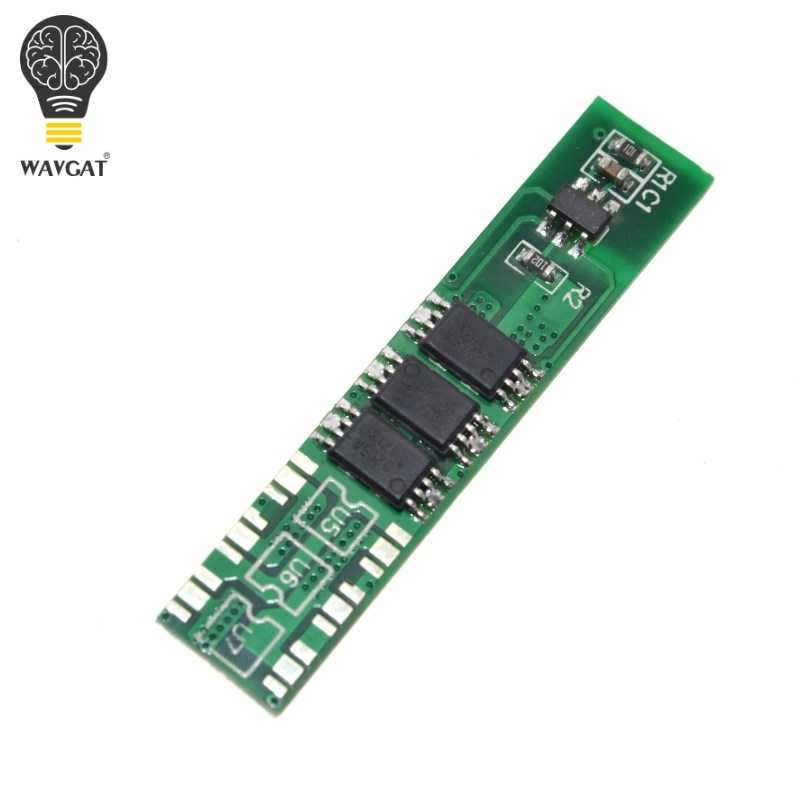 WAVGAT 1 S 5A 3.7 V li-ion BMS PCM panneau de protection de batterie pcm pour batterie lithium ion li 18650