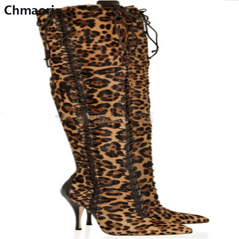 High quality fashion Suede leather Over-the-knee Zipped Thigh high boots Sexy Leopard boots Females Party Nightclub Long Boots ppnu woman winter nubuck genuine leather over the knee snow boots women fashion womens suede thigh high boots ladies shoes flats