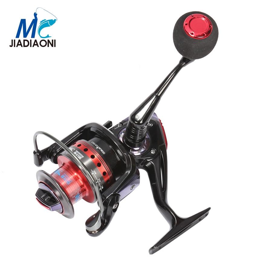 Jiadiaoni high quality cm1000 6000 9 1bb 5 2 1 metal for Chinese fishing reels