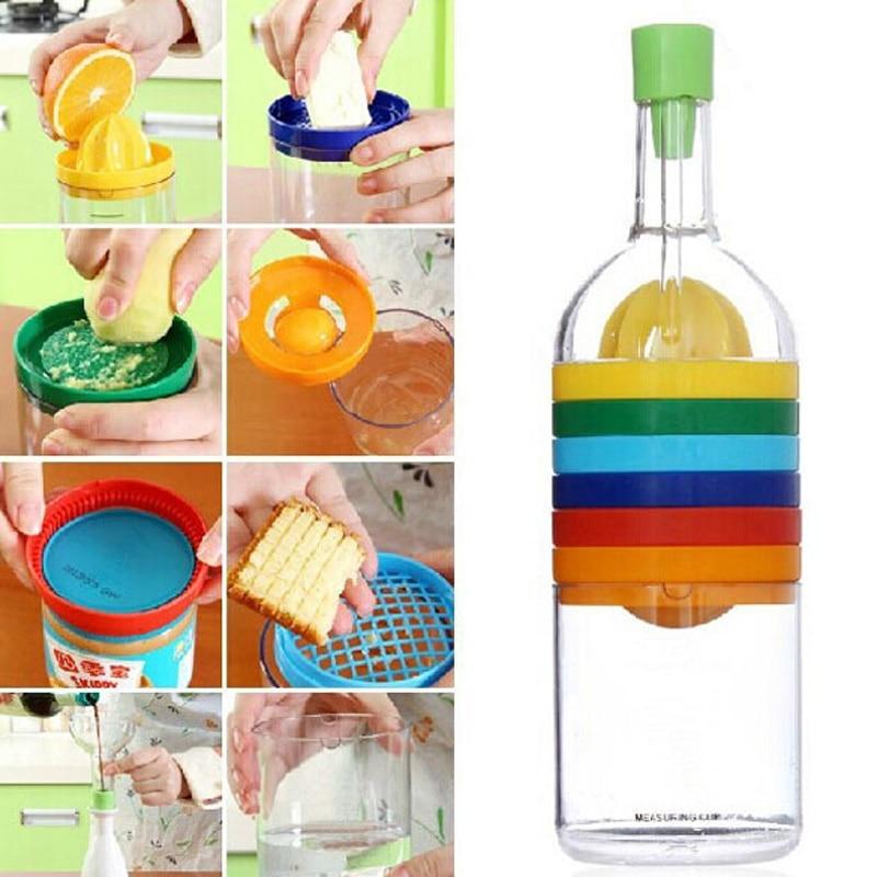 New Multi Functional 8 in 1 Kitchen Tool Set Multipurpose Kitchen Gadget Kitchen Tool Bottle Hot Sale