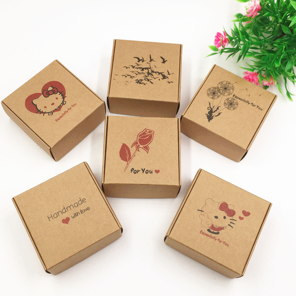 Custom made term paper gift boxes