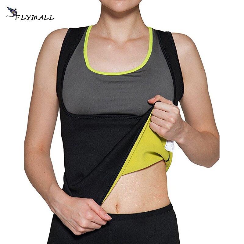 Women Neoprene Body Shapers Slimming Waist Trainer Tank Top For Weight Loss Fitness Underwear Shapewear Vest Belt Modeling Strap