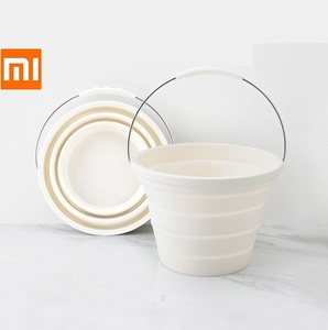 Image 1 - Xiaomi 7.2L Foldable Silica Gel Bucket Portable Durable Easy To Clean Household Outdoor Travelling Fishing Outing Car Washing
