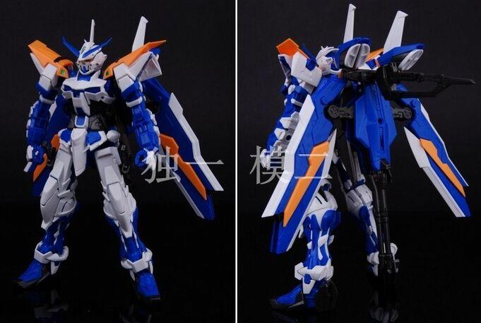 Gundam Astray กรอบสีน้ำเงิน MG 1:100 ชุดของเล่นหุ่นยนต์ของเล่น daban รุ่น action figure-ใน ฟิกเกอร์แอคชันและของเล่น จาก ของเล่นและงานอดิเรก บน   2