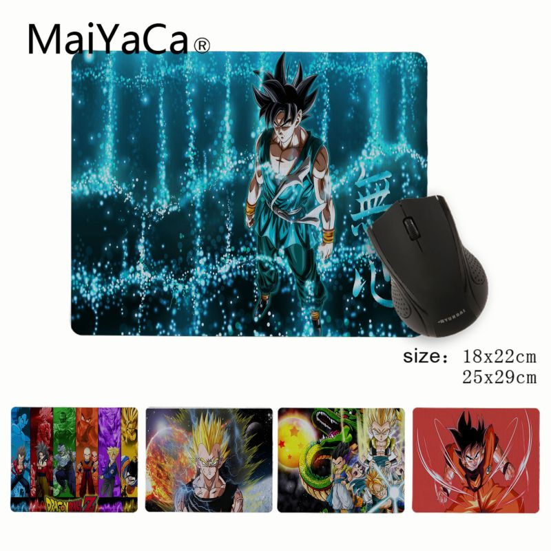 MaiYaCa Cool New Dragon Ball Z Customized Laptop Gaming Small Mouse Pad Rubber PC Computer Mousepad For PC Laptop Notebook