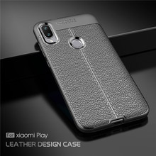 For Cover Xiaomi Mi Play Case Luxury Soft Silicone Rubber Phone Back Fundas ^