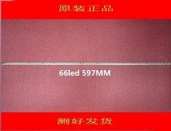 Original Novo 1 pcs * 66LED 597mm LED backlight tira 47