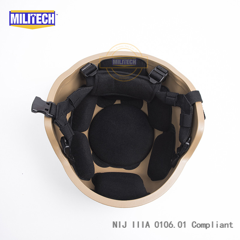Steady Militech Od Oliver Drab Pasgt Nij Iiia 3a Full Cut Ballistic Bulletproof Aramid Bullet Proof Helmet With Lab Testing Videos Back To Search Resultssecurity & Protection