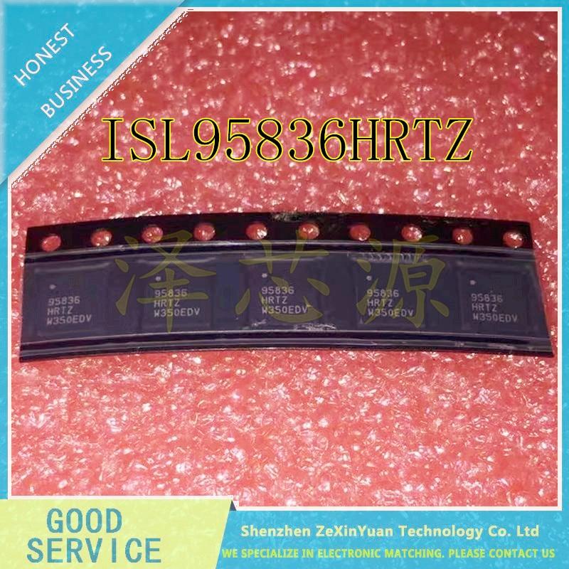 10PCS/LOT ISL95836HRTZ ISL95836 95836HRTZ 95836 QFN-40 DUAL 3+2 PWM CONTROLLER FOR IMVP-7/VR1 CP