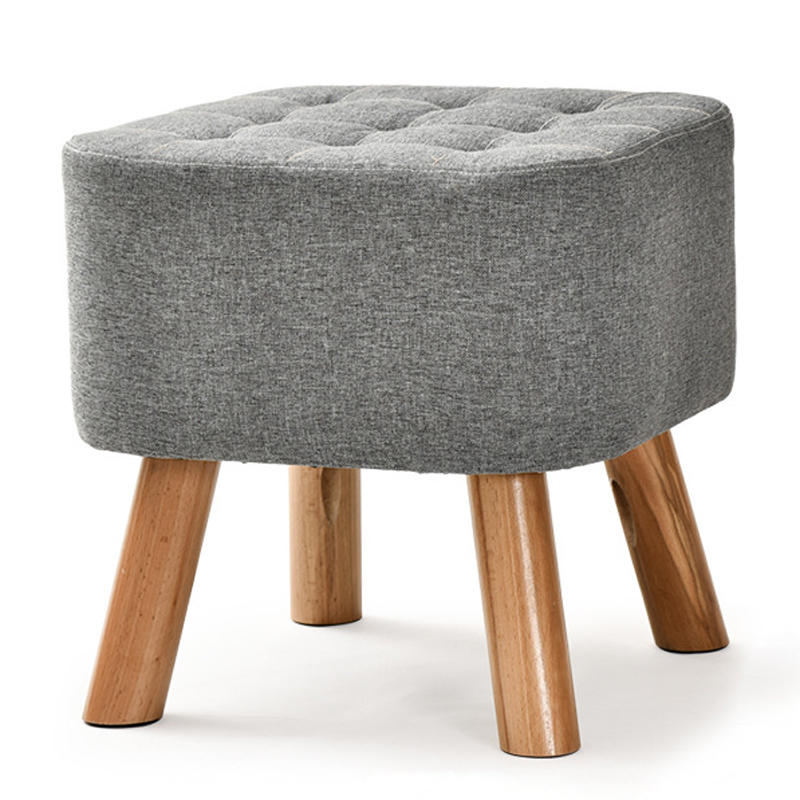 New Taboret Small Stool Creative Wooden Sofa Stool Tea