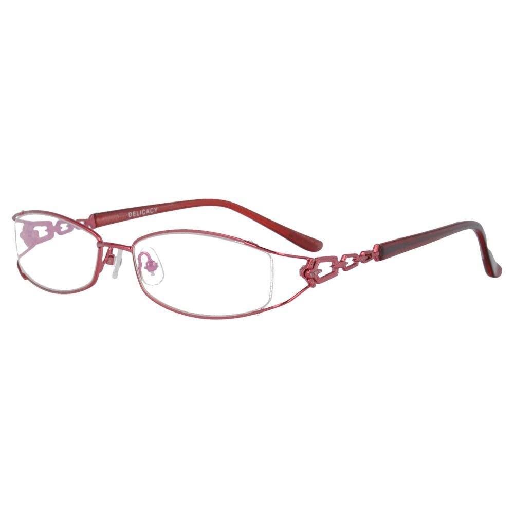 MY DOLI metal prescription spectacles myopia eyewear eyeglasses half rim women 2194
