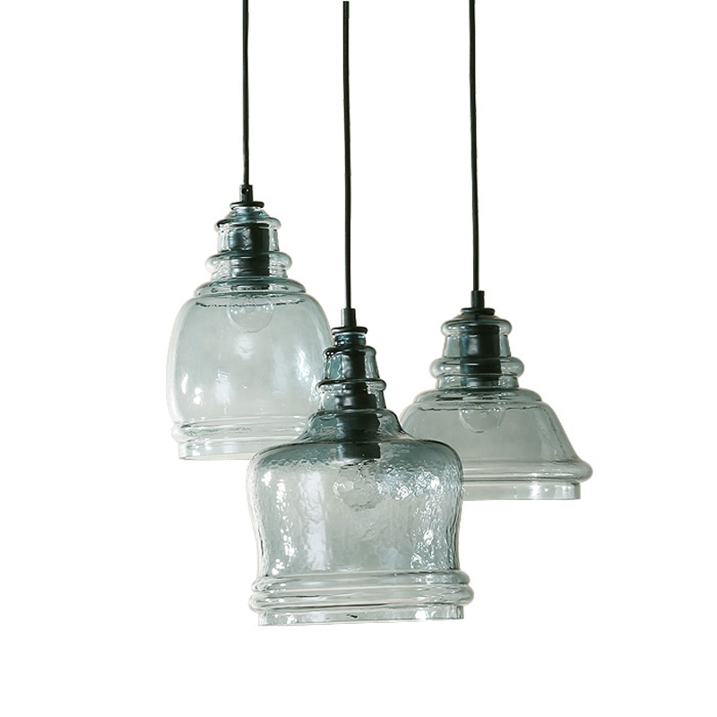 Vintage Pendant Lights Glass Shade Suspension Luminaire Loft Retro E27 Bulb Modern Industrial Home Lighting Hanging Fixtures 623 цена