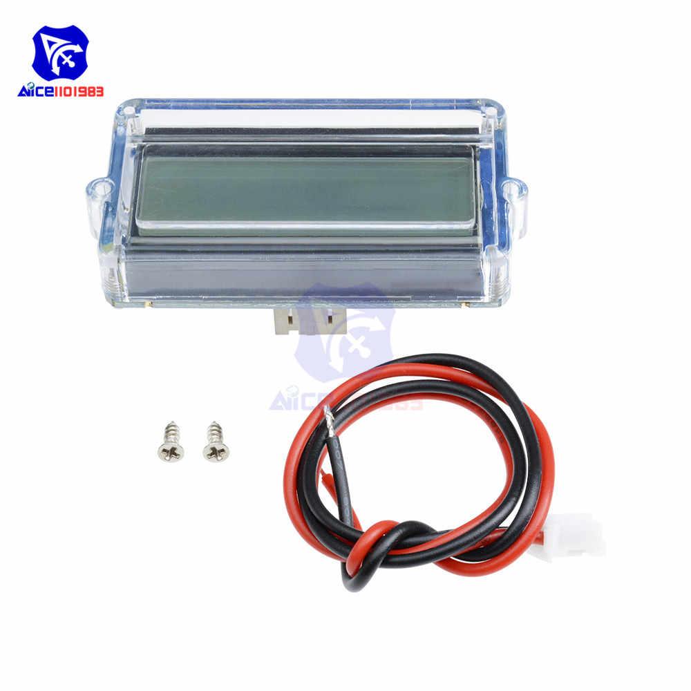 Diymore 3S 12 فولت الرصاص الحمضية بطارية ليثيوم قدرة مؤشر رقمي LED رصد حالة شاحن متر مقياس مقاوم للماء مع كابل