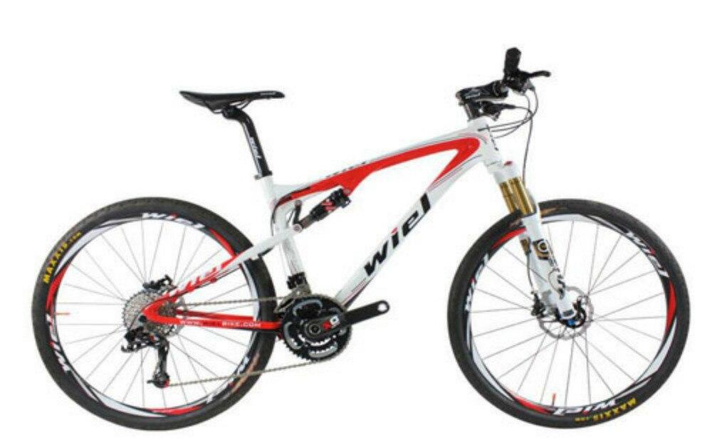 WIEL POLE 30 Speed Carbon Fiber MTB Mountain Bike 26