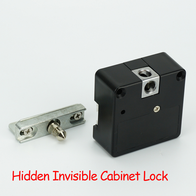 Hidden Cabinet Locks
