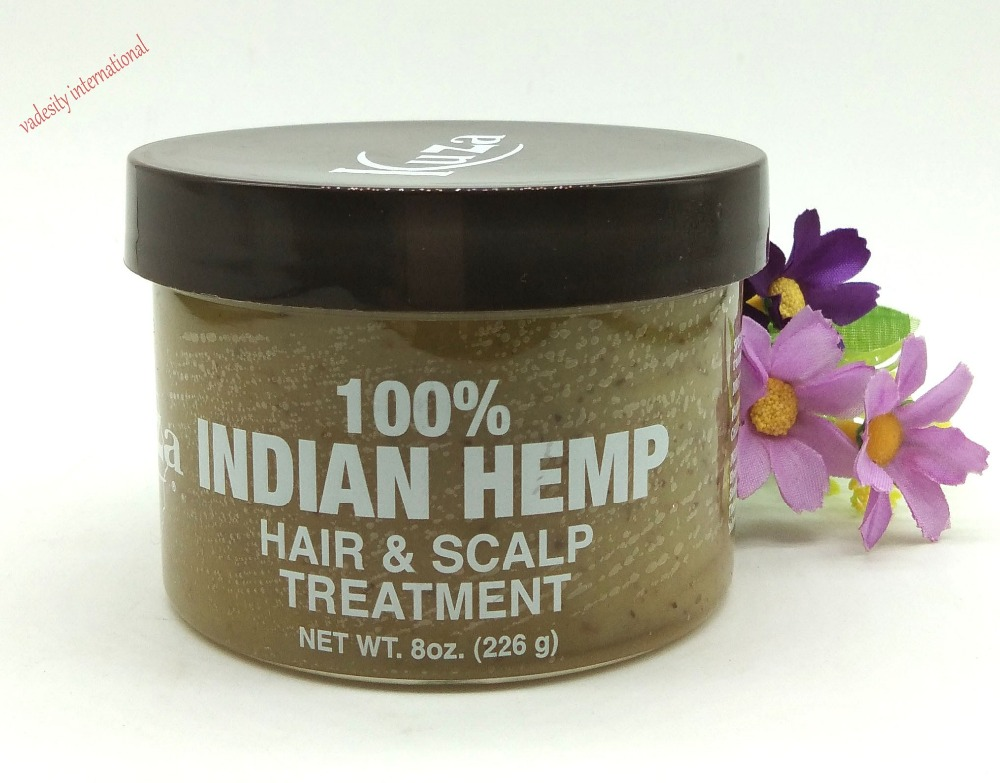 Kuza 100% Indian Hemp Hair and Scalp Treatment 226g