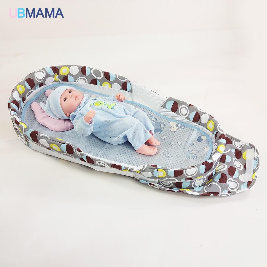 Produto do bebê recém-nascido cama dobrável espessamento