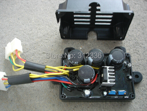 Free Shipping Generator Welder AVR 12 Wire Welding AVR 5kw 5kVA 6kVA 7kVA Single phase Suit for Kipor Kama free shipping high cover 16cm motor front frame diesel generator 1 5kw 2kw 2 5kw motor support suit for kipor kama chinese brand