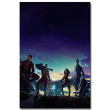STAR LORD – Guardian of The Galaxy Art Silk Fabric Poster Print 13×20 24x36inch Superheroes Movie Picture for Room Wall Decor 24