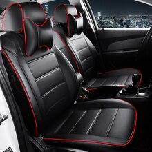 цена на HLFNTF Custom leather Car Seat Covers For Jeep renegade wrangler patriot grand cherokee car accessories car-styling