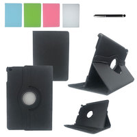 Case Cover For New IPad 2017 PU Leather Flip Smart Stand 360 Rotating Case For Apple
