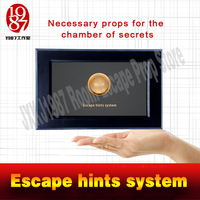 Real Life Room Escape Props Escape Hints System Swipes Card To Help For Escape Room From