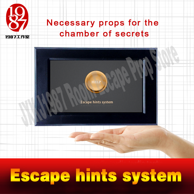 Real life room escape props Escape hints system swipes card to help for escape room from JXKJ1987 for adventure game props jxkj1987 real life escape room game multi knock prop for escape mysterious room adventure game props for takagism game