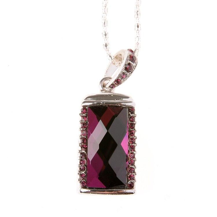 Girl Gift Jewelry Necklace Pendrive 64GB 128GB USB Flash Drive 2TB Pen Drive 1TB 32GB 16GB 8GB Memory Stick Memoria Usb Key 2.0