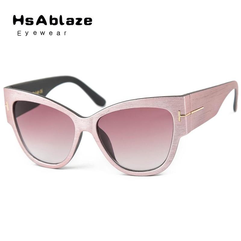 5357a268a Hsablaze óculos mulheres marca de luxo designer óculos de sol cat eye óculos  de sol óculos shades sexy retro shades oversized óculos de sol luneta de  soleil