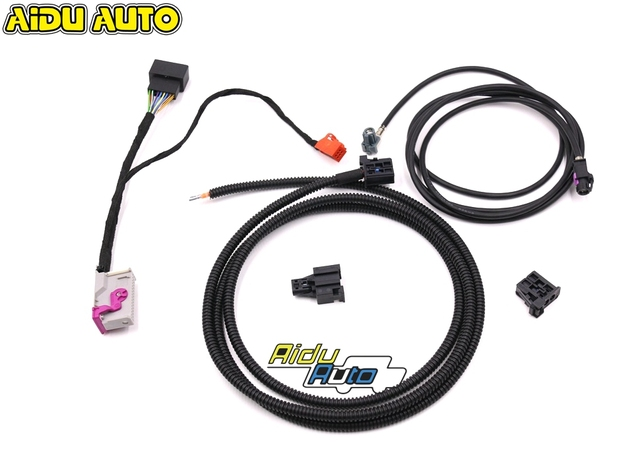liquid Crystal Virtual Cluster LCD Instrument installation  Install Harness Wire For Audi A3 8V Q2