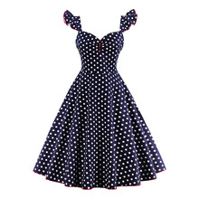 Sisjuly vintage dress women 1950s spring elegant dots button butterfly sleeve party dress summer v neck women vintage dresses