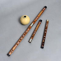 Playing professionally refined bamboo flute C / D / E / F / G tone Two pieces are detachable