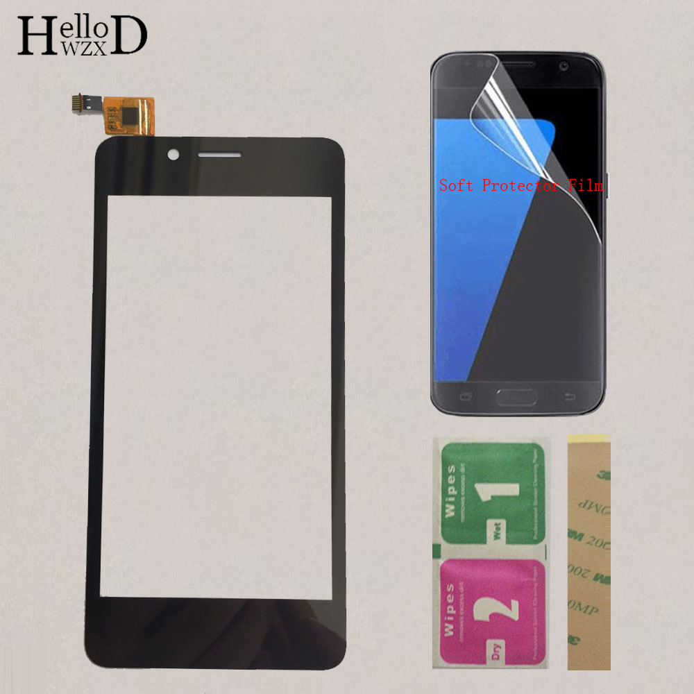 Mobile Touch Screen For Fly FS458 stratus 7 FS 458 Touch Sensor Screen Digitizer Front Glass Panel Touchscreen Protector Film
