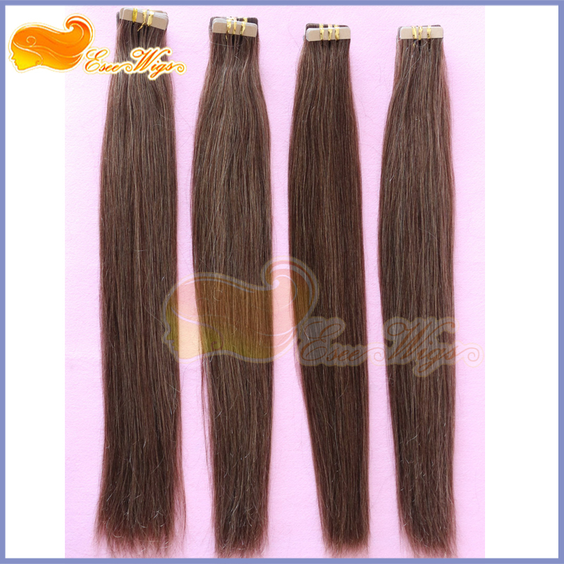 33 brown color micro tape and hair extension great length fusion 33 brown color micro tape and hair extension great length fusion tape virgin hair double sided tape hair extensions in skin weft hair extensions from hair pmusecretfo Images