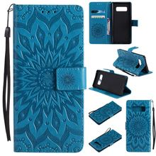 MuTouNiao Blue Leather Flip Case Cover For Samsung Galaxy Note 3 4 5 8 9 A3 A5 A6 A7 A8 Plus 2016 2017 2018 S4 S5 Mini I9190