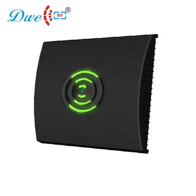 DWE CC RF access control card reader temperature resistant black plastic wiegand em reader RFID stylish outdoor reader цена и фото