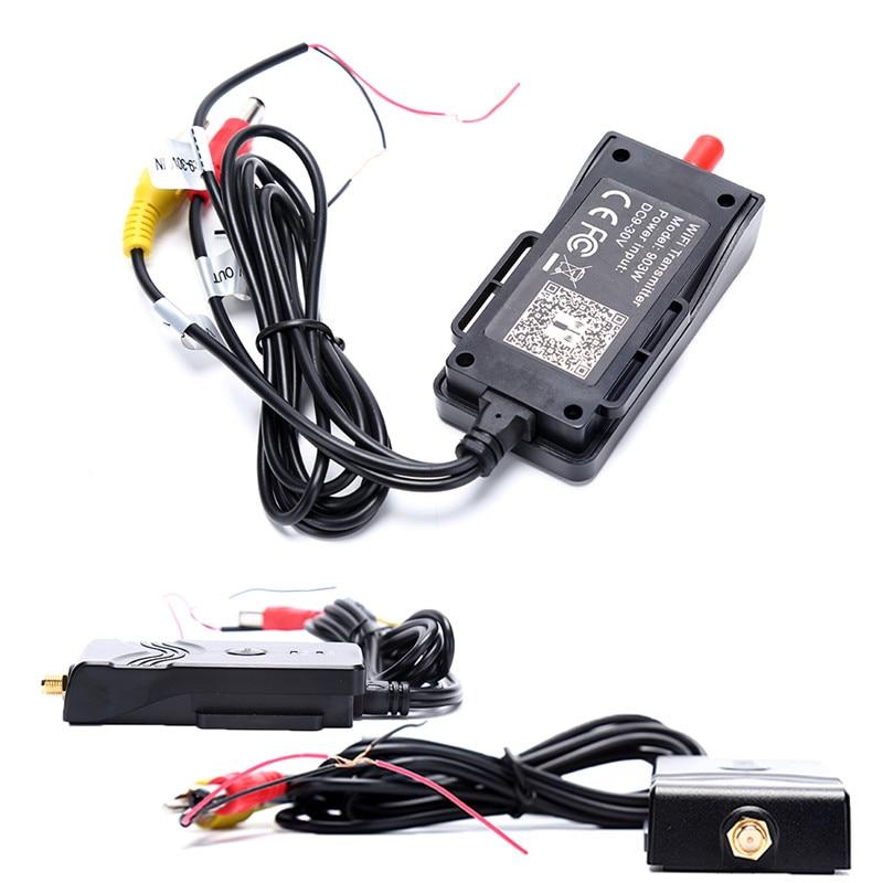 903W WIFI Transmitter for FPV Aerial Photography Video Car Backup AV Interface