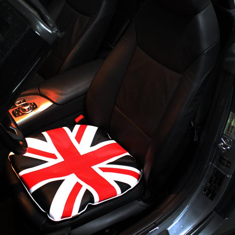 UK British Flag Printed Car Seat Cushion Front Heavy Duty Dustproof Seats Protectors Auto Seat Covers Front Universal Car Van