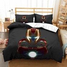 Home Decor Stores Duvet Covers Avengers Iron Man Bedding Set