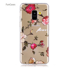 50 patterns! Cat Case sFor Celular Samsung A8 2018 Soft TPU Back Cover Telefoan Business Wallet Case sFor Samsung Galaxy A530(China)