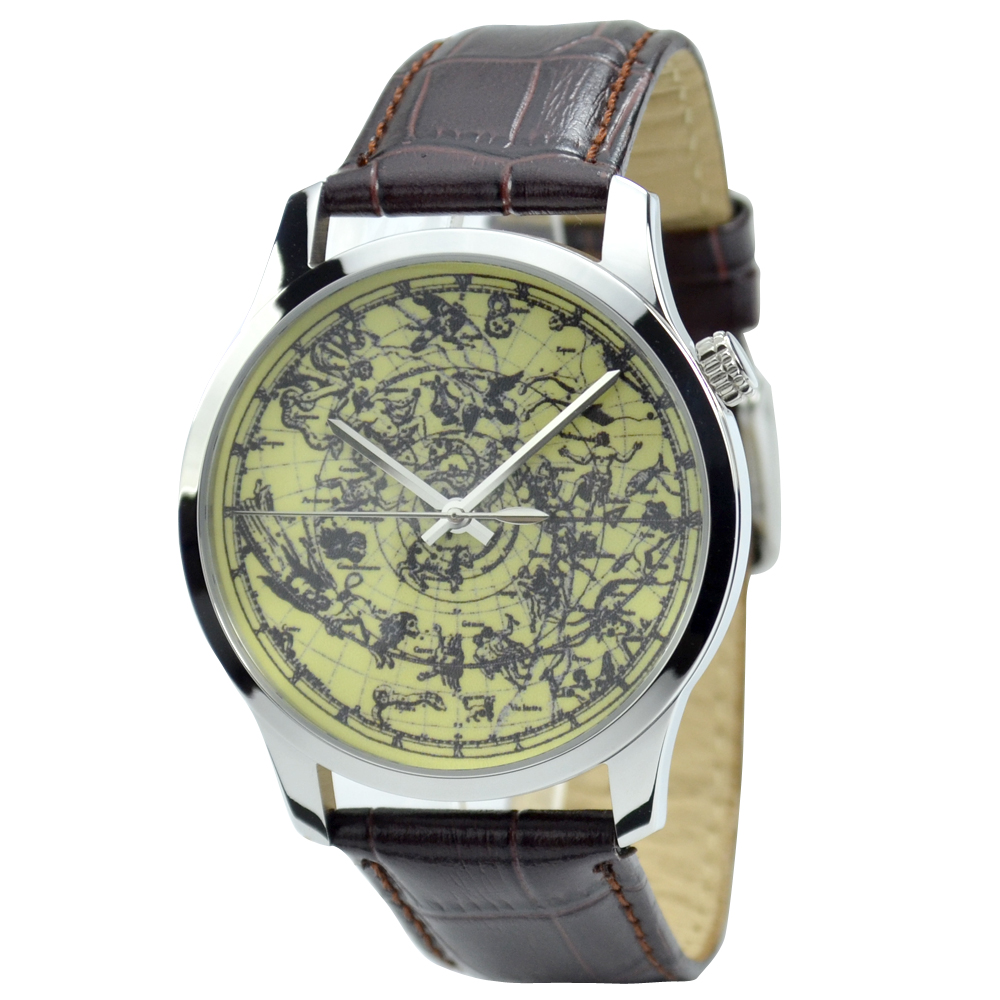 Constellation in Sky Watch Yellow Fashion Watch Free Shipping Worldwide  Welcome Wholesale | Fotoflaco.net