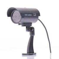 2016 Waterproof Outdoor Fake Security Dummy CCTV Surveillance Camera Indoor Night CAM LED Light
